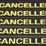 Cancelación de un vuelo